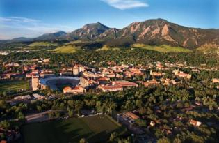 City view of Boulder, Colorado