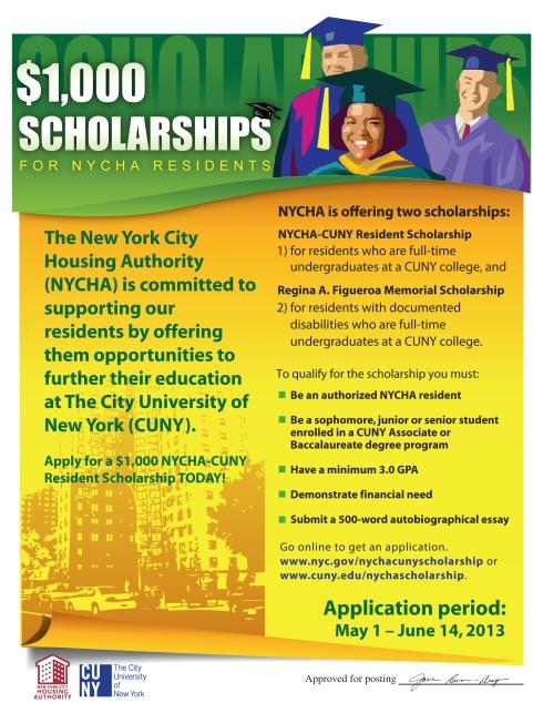 New York City Housing Authority Scholarship