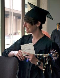 Claire Davis, SPS Spring 2013 Graduate