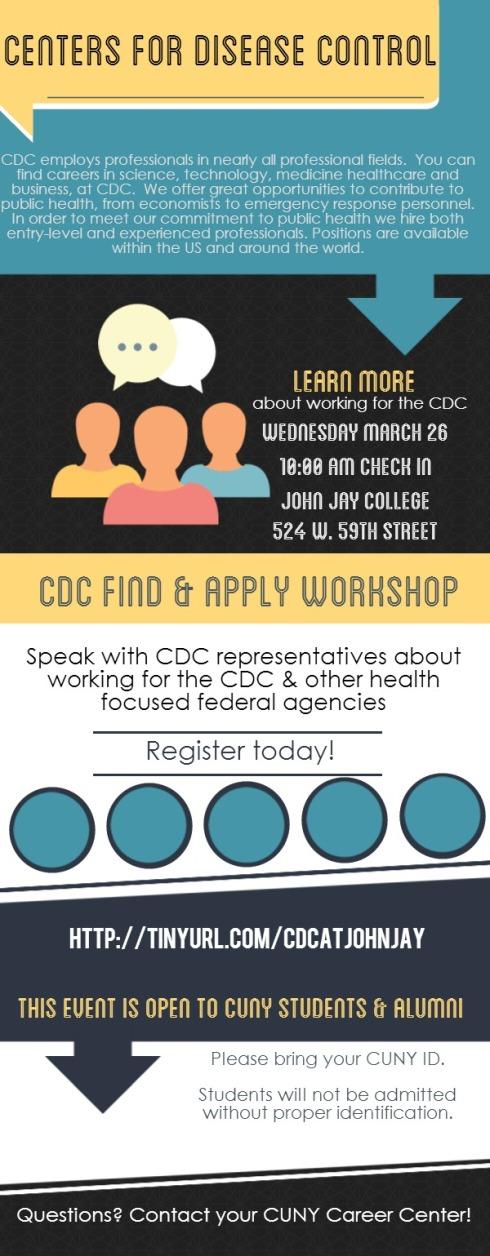 CDC Find & Apply Workshop