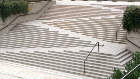 Accessible Staircase Robson Square