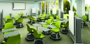 Accessible classroom chairs and furniture